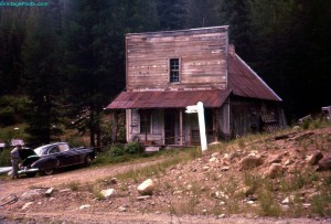 Ghost Town of Bourne, Oregon
