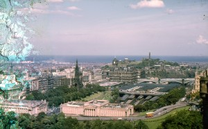 View from Edinburgh Castle - 1965