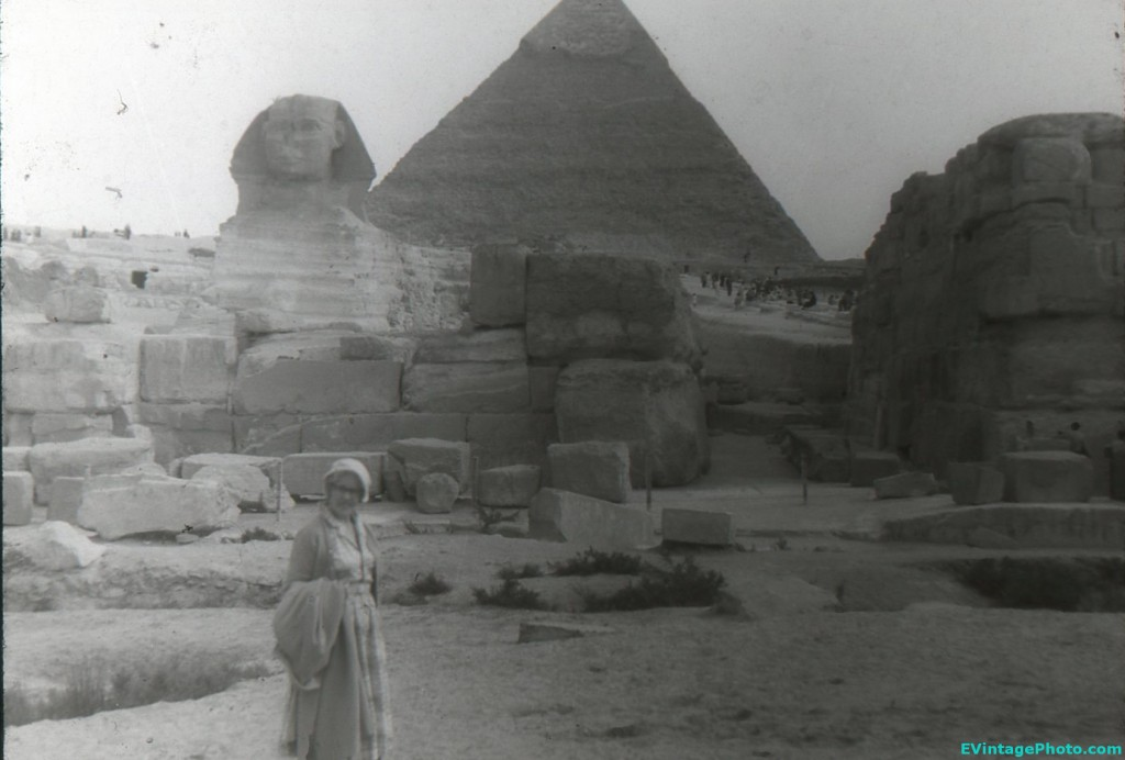 Tourism at Giza